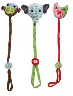 Crochet Pacifier Holder