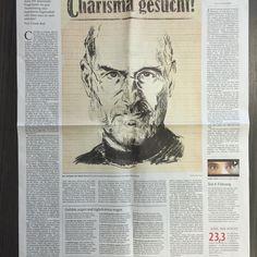 """Gestern und heute: Mein Interview zum Thema Charisma in der FAZ-Beilage """"Beruf und Chance""""."""