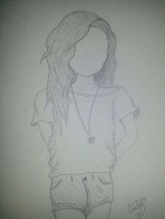 Hipster drawing.