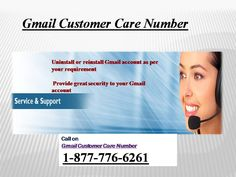 Call #Gmail #Customer #Service 1-877-776-6261 to Have the Prompt Solution