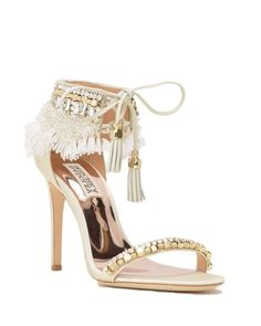 Find the perfect pair of wedding shoes at Badgley Mischka, with designer wedding heels, flats, sandals and more, all dripping with gorgeous details. Boho Wedding Shoes, Converse Wedding Shoes, Wedge Wedding Shoes, Designer Wedding Shoes, Wedding Heels, Bride Shoes, Designer Shoes, Bridal Shoes Wedges, Ivory Wedding