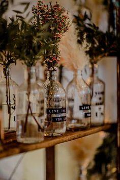 Boho Hochzeit Inspiration botanisch tropisch bohemian (Foto: Elena Engels)