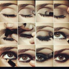 How to- make up for brown eyes