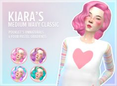 siampop:  Kiara's Medium Wavy Classic [Recolor]You need the mesh in order for this to work. Get it hereI'm not sure if this has been done before but enjoy!download: mediafire