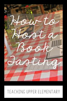 If you haven't held a book tasting for your students then you need to plan one now! This event was simple to plan and had great payoffs! My students were so excited and engaged, it was an event that made my teacher heart burst! Step by step directions on the blog! Book Tasting, Get To Know You Activities, Upper Elementary, Getting To Know You, Lesson Plans, Knowing You, Back To School, Literature, Teacher