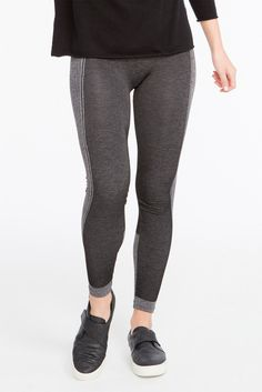Image of SPANX Curved Lines Seamless Leggings