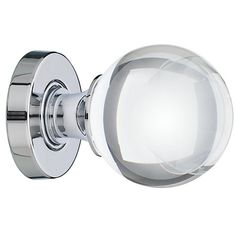 Buy John Lewis Glass Mortice Knobs, Pack of 2, Dia.55mm Online at johnlewis.com