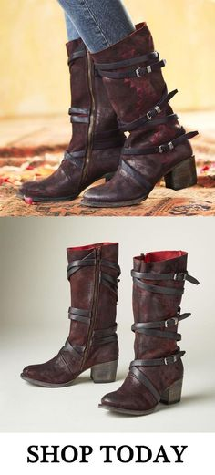 e15dabfd3653 Shoespie Stylish Side Zipper Buckle Chunky Heel Ankle Boots any order 15%  off code