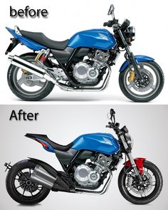 Honda's is a great starting point for a cafe racer Cb400 Cafe Racer, Cafe Racer Honda, Cafe Bike, Cafe Racer Bikes, Cafe Racer Motorcycle, Moto Bike, Cbx 250, Motor Cafe Racer, Scrambler Moto