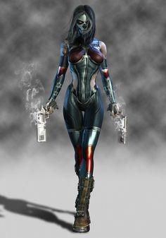 Image cyberpunk art 10 in Urban Fantasy album Cyberpunk Kunst, Cyberpunk Girl, Foto Fantasy, Fantasy Girl, Character Inspiration, Character Art, Character Design, Comics Anime, Sci Fi Characters