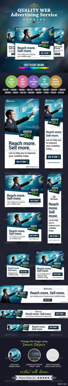 Advertise Here Banners Template PSD | Buy and Download: http://graphicriver.net/item/advertise-here-banners/8487962?WT.ac=category_thumb&WT.z_author=BannerDesignCo&ref=ksioks