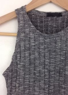 ribbed knit crop tank