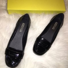 NIB Kenneth Cole Black Patent Leather Loafers Brand new in box Kenneth Cole black patent leather loafers in size 7. Kenneth Cole Reaction Shoes Flats & Loafers