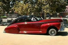✿Chevy Fleetline Custom✿ My Dream Car, Dream Cars, Vintage Cars, Antique Cars, Art Deco Car, Car Bomb, Truck Wheels, Sweet Cars, Amazing Cars