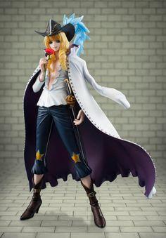 Estatua Cavendish 23 cm. Excellent Model P.O.P. One Piece. Megahouse Estupenda estatua de la protagonista Cavendish de 23 cm de altura perteneciente a la línea Excellent Model P.O.P. vista en popular manga/anime de One Piece y fabricado en PVC.