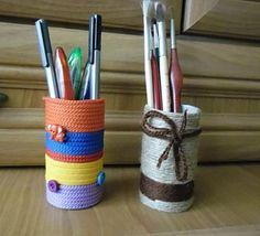 Diy back to school : DIY pencil cup  