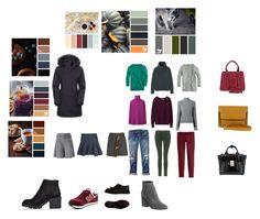 """Сет 8 парка"" by pro04 on Polyvore featuring мода, Diane Von Furstenberg, J.Crew, Uniqlo, Haider Ackermann, The North Face, J Brand, Gap, 3.1 Phillip Lim и River Island"