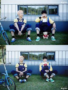 BTS Seasons Greeting 2016 Jungkook & Rap Monster They looks so adorable!