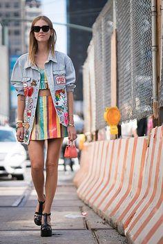 Top & Skirt   Jeremy Scott // Sandals   Melissa