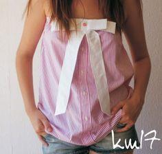 km17 -Men's dress shirt refashion