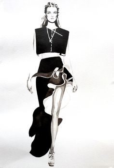 Madeleine Carroll nankin. Balenciaga ss2013