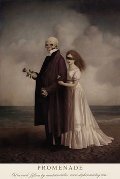 The classically inspired and mystically enchanting paintings of artist Stephen Mackey. Gothic Aesthetic, Aesthetic Art, Arte Horror, Horror Art, Bel Art, Arte Peculiar, Renaissance Kunst, Danse Macabre, Lowbrow Art