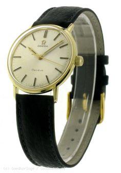 VINTAGE - Omega 14k vintage watch :: Goedhorloge.nl