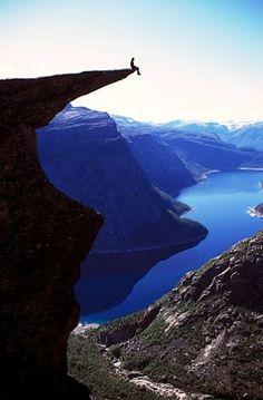 Trolltunga in Hardanger, Norway