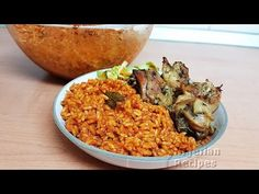 Smoky Party Jollof Rice: The secret ingredient for Smoky Nigerian Party Jollof Rice? All Nigerian Recipes, Yellow Rice Recipes, Nigeria Food, Jollof Rice, International Recipes, Fried Rice, Good Food, Lunch, Eat