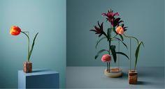 Blocs studios : Designer Sabine Marcelis / Photo Carl Kleiner via Goodmoods