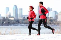 Correr con frio