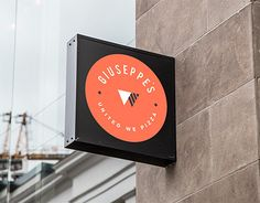 """Check out new work on my @Behance portfolio: """"Giuseppe's  Pizza"""" http://be.net/gallery/46494161/Giuseppes-Pizza #pizza #italian #graphicdesign #branding #logo #behance #dribbble #brand #package #triangles #illustration #graphicdesign"""