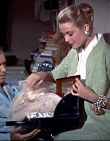 I Don T Think There Is A Woman Anywhere Who Doesn Remember That Scene In Rear Window When Grace Kelly Comes Over With Her Mark Cross Overnigh