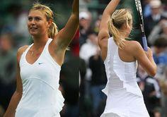 Maria Sharapova Wimbledon Whites