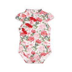 64fea2de5b24 Check out my new Elegant Floral Cheongsam Bodysuit in Pink for Baby Girl