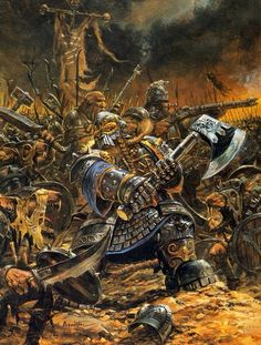 Dwarfs vs Skaven