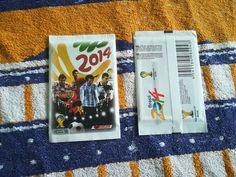 RARE sealed pack packet bustina tute WORLD CUP Brazil 2014 Catini Brasil 2014