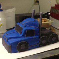trucker cake
