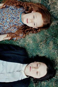Lily Evans and Severus Snape, friends forever.