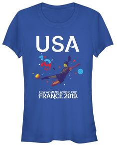 FRANCE BOYS GIRLS T-Shirt FOOTBALL World Cup 2019 KIDS French Top Retro Square