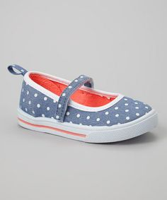 Love this Blue Polka Dot Sally Mary Jane by Carter's on #zulily! #zulilyfinds