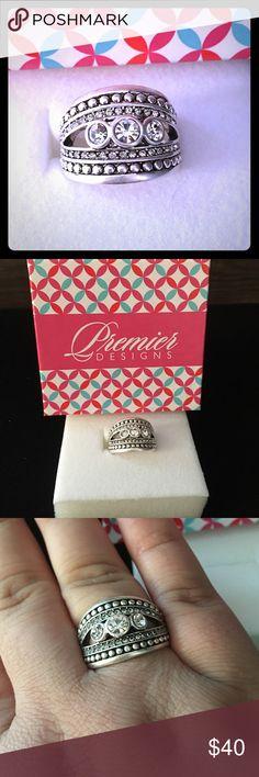 Premier Designs Stately Ring NEW - Premier Designs Stately Ring - size 10 Premier Designs Jewelry Rings