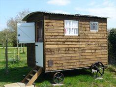 www.gypsycaravanbreaks.co.uk  There's a beautiful bathroom in here