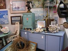 Check out Two Women and A Warehouse on Bull Street---They have the cutest vintage stuff