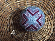 Dekorácie - vianočné patchworkové gule bordovo-strieborné so staroružovou - 7148740_