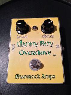 Shamrock Amps Danny Boy Overdrive Boutique Guitar Pedal RARE