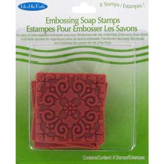 Square Embossing Soap Stamps