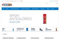 Diseño de tienda online para Tecmasol. #zesis #zaragoza #tiendaonline #diseñoweb #marketing
