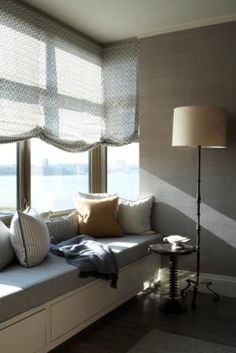 Window seat. Thom Filicia design.