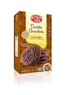 Enjoy Life Double chocolate Crunchy Cookie, 6.3-Ounce (Pack of 6) - http://bestchocolateshop.com/enjoy-life-double-chocolate-crunchy-cookie-6-3-ounce-pack-of-6-2/